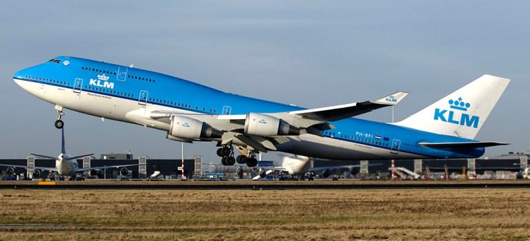 Avião Boeing 747-400 KLM