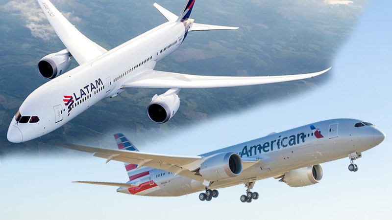 Boeing 787 LATAM American