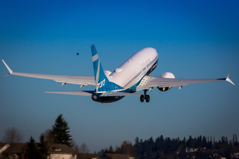 Avião Boeing 737 MAX 7