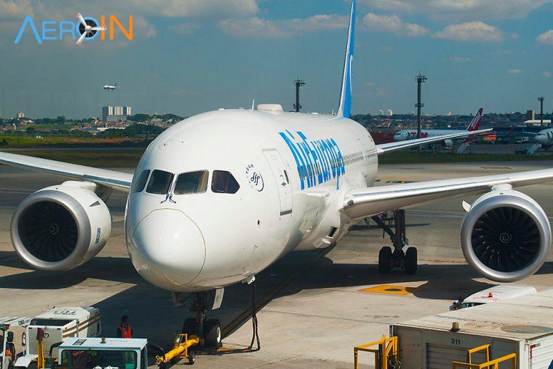 Boeing 787 Dreamliner da Air Europa em Guarulhos