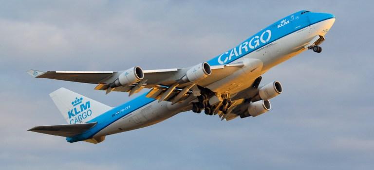 Avião Boeing 747-400F KLM Cargo