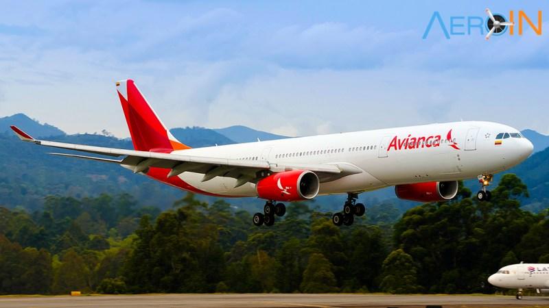 Avião Airbus A330-300 Avianca