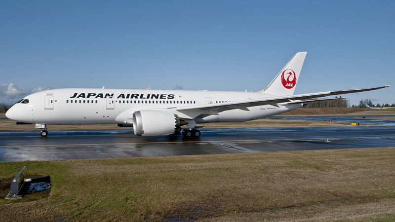 Avião Boeing 787 JAL Japan Airlines