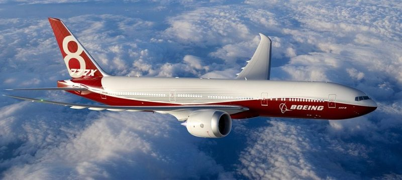 ultra-longo alcance 777-X