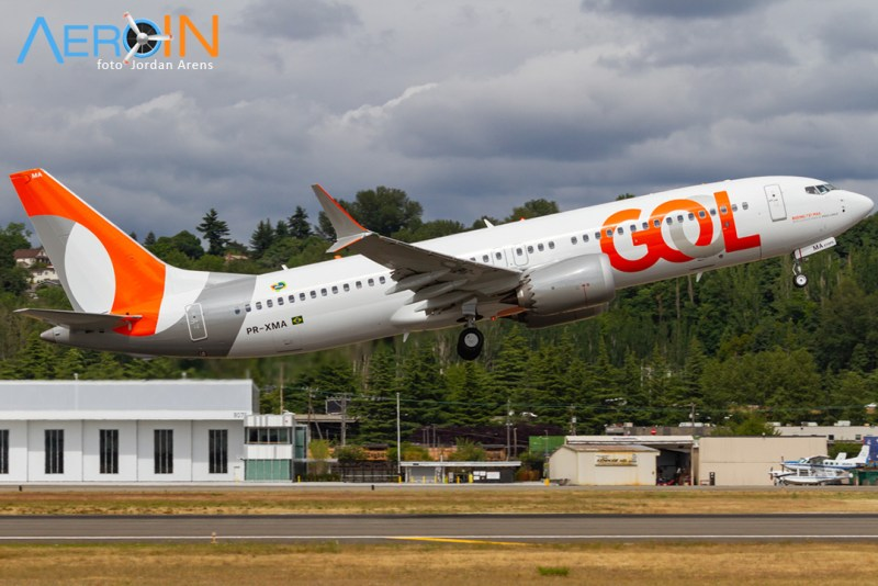Primeiro Boeing 737 MAX da GOL