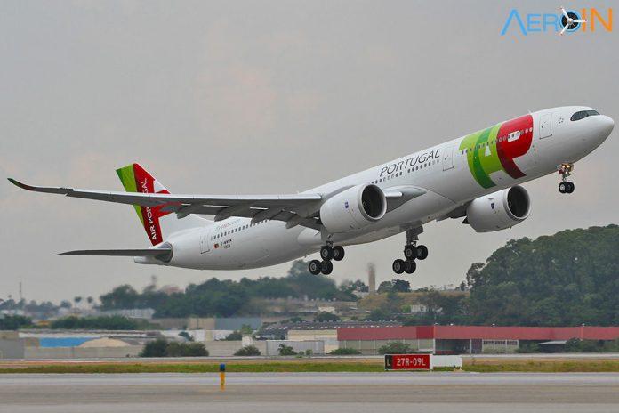 Avião Airbus A330neo TAP