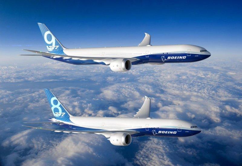 Avião Boeing 777-8 777-9 777X