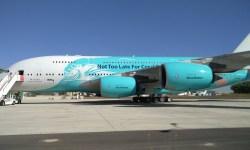 Avião Airbus A380 HiFly