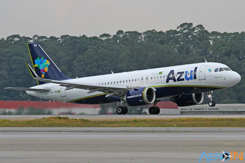 Airbus A320neo Blue