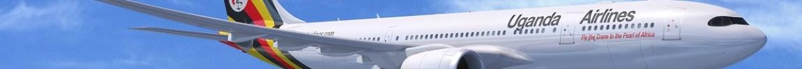 Avião Airbus A330-800 A330neo Uganda Airlines