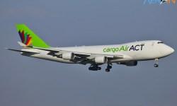 Avião Boeing 747-400 ACT Cargo Turkish