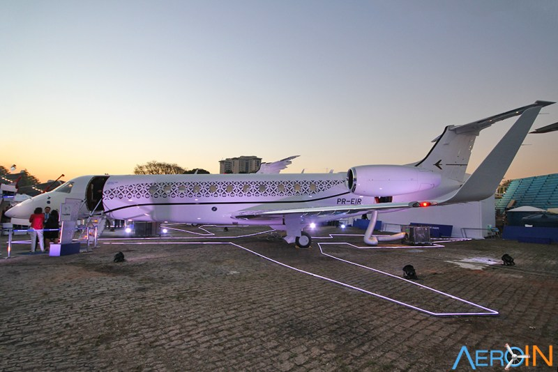 Avião Jato Executivo Embraer Legacy 650E Labace 2018
