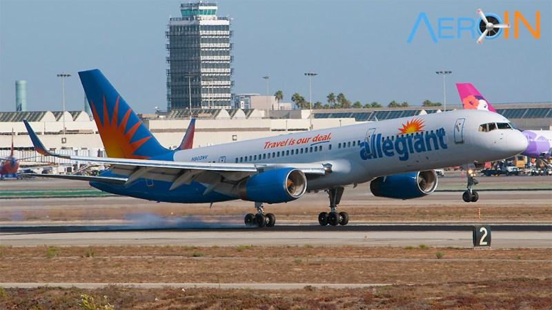 Avião Boeing 757 Allegiant