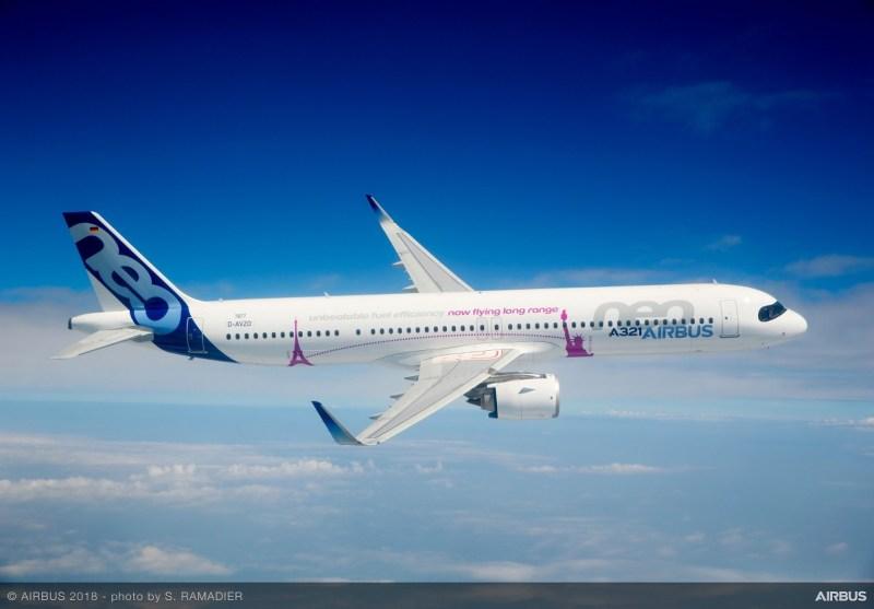 Avião Airbus A321neo A321]lr