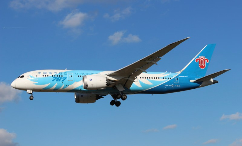 avião Boeing 787 China Southern