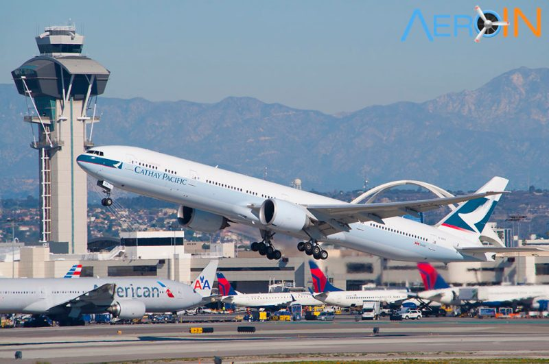 Cathay Boeing 777 LAX