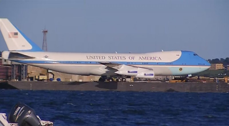 Réplica Boeing 747 Air Force One