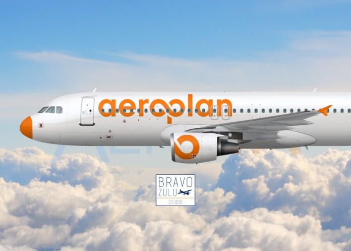 avião Aeroplan