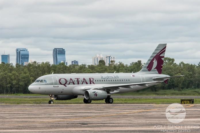 Avião Airbus A320 Catar