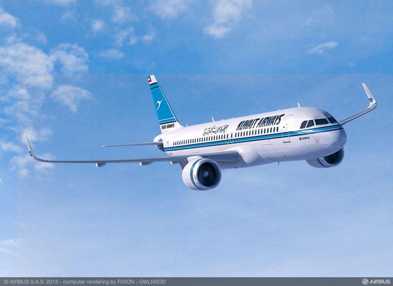 Avião Airbus A320neo Kuwait Airways