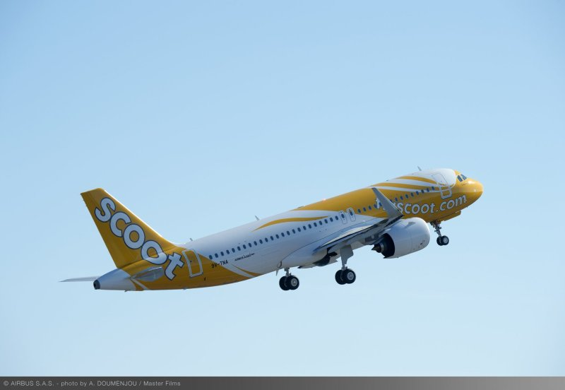 Avião Airbus A320neo Scoot