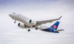 Avião Airbus A320neo Qingdao