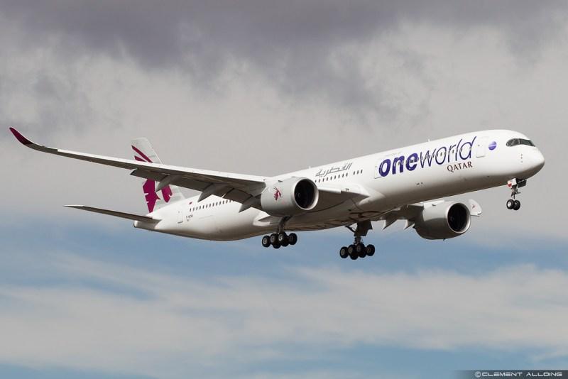 Avião Airbus A350-1000 Qatar