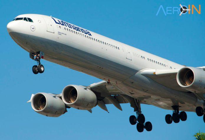 Airbus A340-600 da Lufthansa