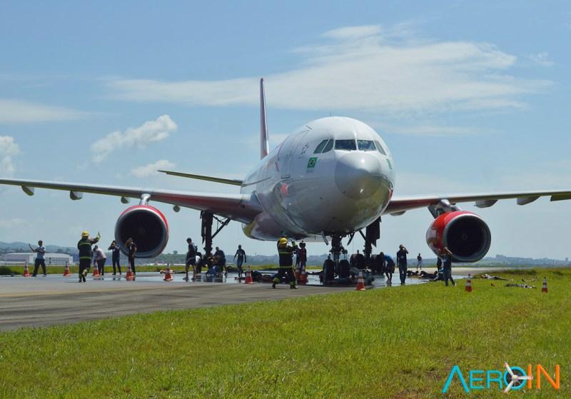 Simulado Emergência Aeronáutica Aeroporto Guarulhos