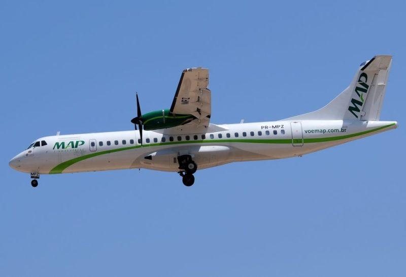 Avião ATR 72 MAP