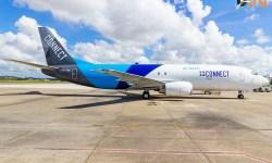 Avião Boeing 737-400F Connect Cargo
