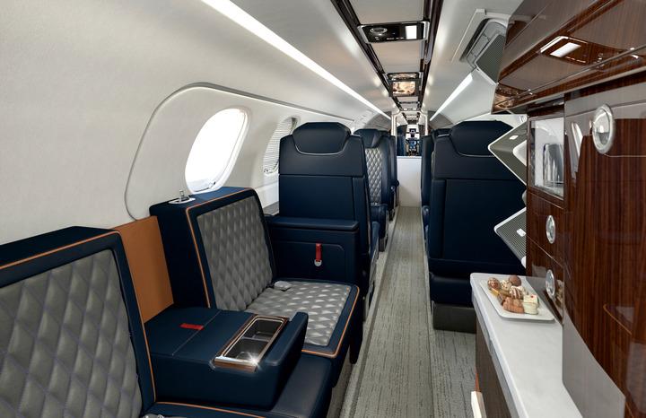 Avião Executivo Interior Embraer Phenom 300 300E