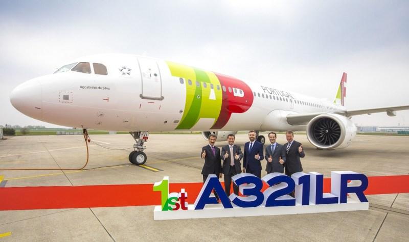 Avião Airbus A321LR TAP Portugal