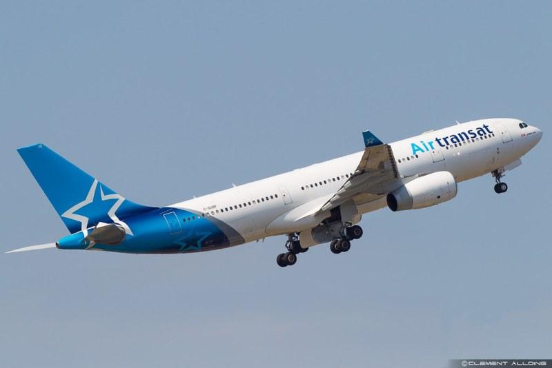 Avião Airbus A330 Air Transat