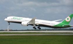 Avião Boeing 787-10 EVA Air