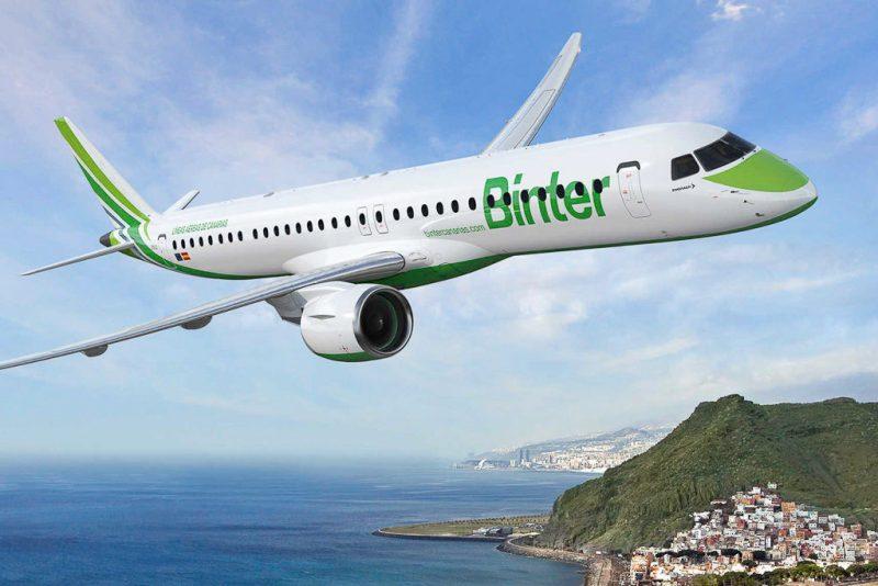 Avião Embraer E-Jet E195 E2 Binter