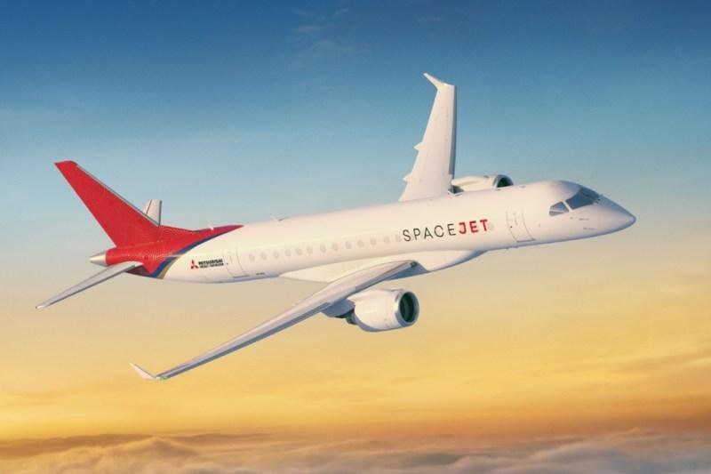 Avião Mitsubishi SpaceJet
