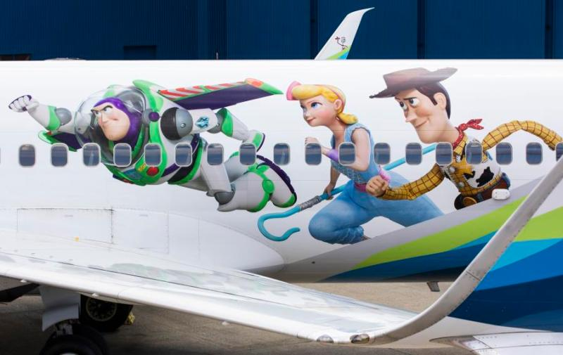 Alaska 737 Toy Story