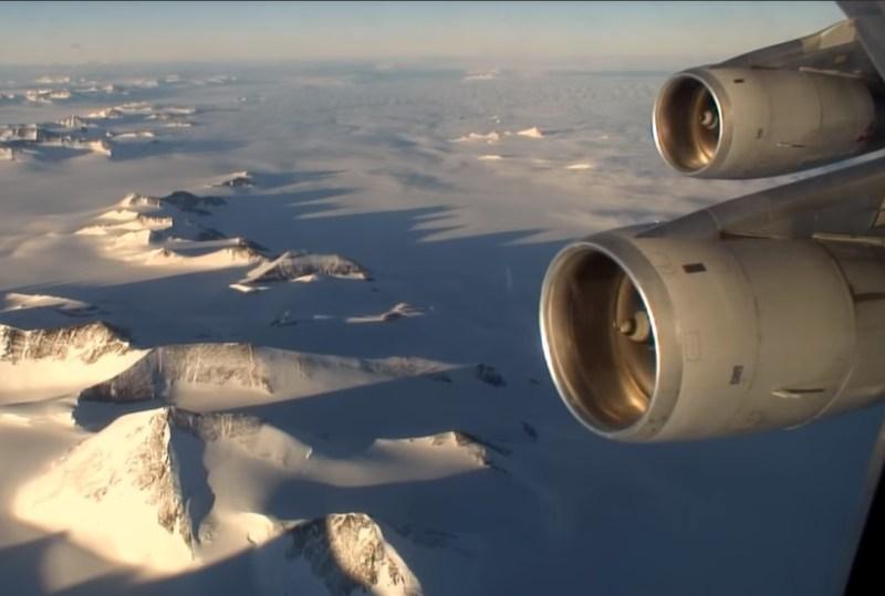 Antartica Flight Australia