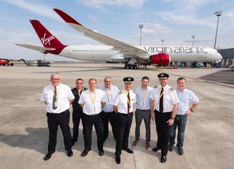 Virgin Atlantic First A350-1000