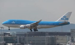 Video Pouso 747 KLM