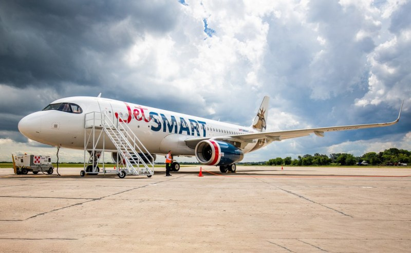 Avião Airbus A320 JetSmart