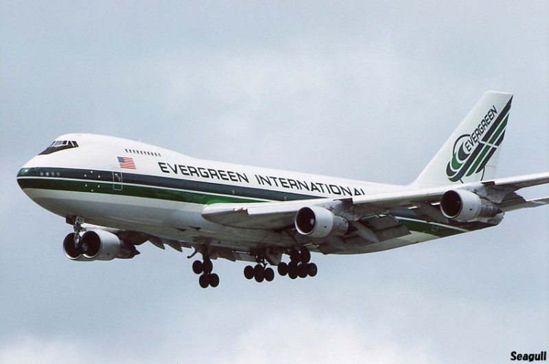 Boeing 747 Evergreen N475EV