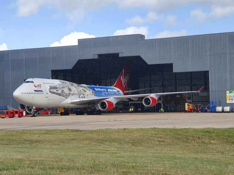 Boeing 747 Millenium Falcon