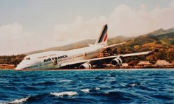 Air France 747-400 Runway Overrun