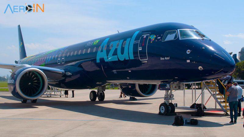 Primeiro Embraer E195-E2 da Azul