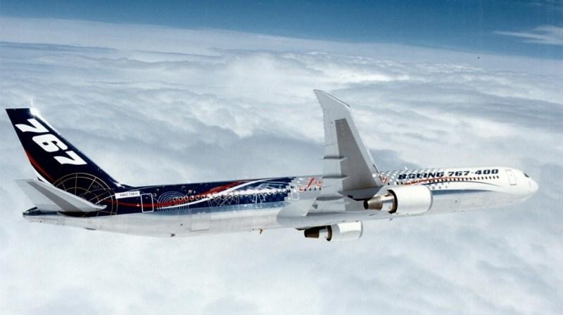Boeing 767-400ER Air to Air