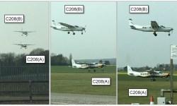 Close Call Cessna 208 Caravan