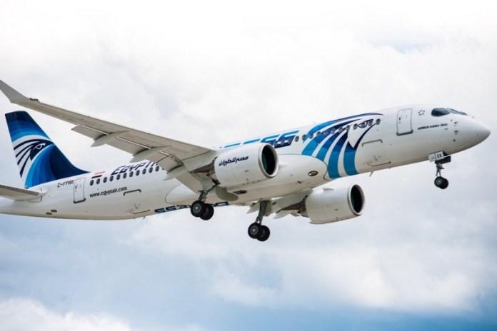 Airbus A220-300 EgyptAir
