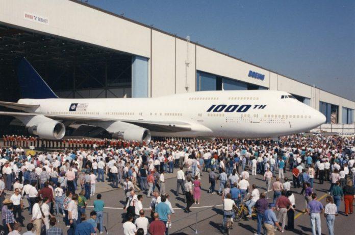 Boeing milésimo 747 Singapore